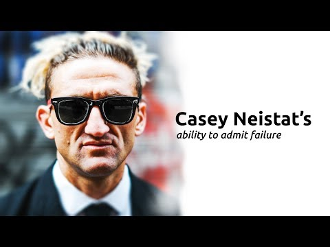 CASEY NEISTAT'S ABILTY TO ADMIT FAILURE. A KEY TO HIS SUCCESS ON YOUTUBE