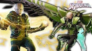 СТЕРВЯТНИК И ЭЛЕКТРО 2 БОССА на ПАУКА Marvel's Spider Man! Игра по мультику Человек Паук #28
