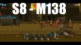 Dead Ahead Zombie Warfare Stage 8 - Mission 138, 3Star