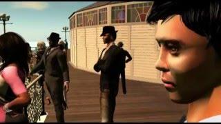 Brighton MODS in Second Life at New Brighton