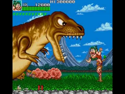 Arcade Longplay [299] Caveman Ninja