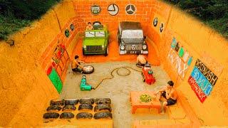 Building Modern Underground Car Garage