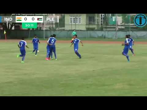 India u16 Vs Palestine u16 AFC CUP Match highlights HD {3-0}