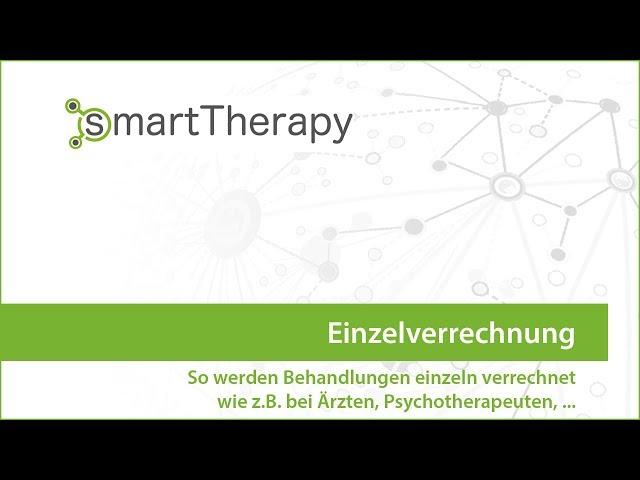 Einzelverrechnung für Aerzte und Psychotherapeuten
