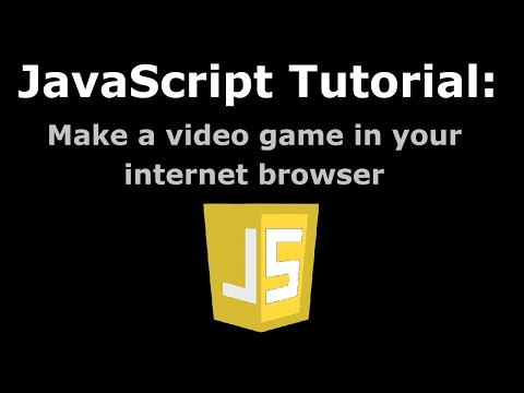Make A Video Game In Your Internet Browser (JavaScript & HTML Tutorial #1: Player Movement)