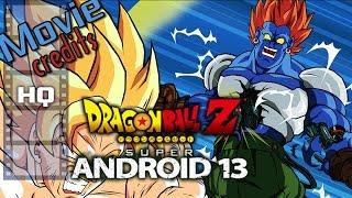 DragonBall Z: Super Android 13 - Movie Credits HQ Original