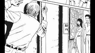 【伊藤润二:地图之城】猥琐老头,看着面前少女居然爬着墙做出这种事