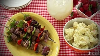 How to Make Mom's Beef Shish Kabobs | Beef Recipes | AllRecipes