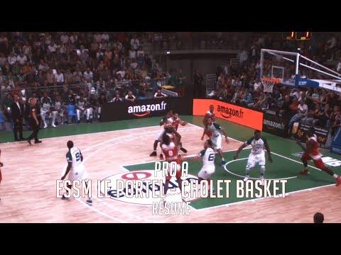 ESSM Le Portel - Cholet Basket: Résumé du Match