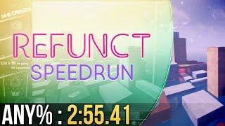 Refunct Any% Speedrun in 2:55.41