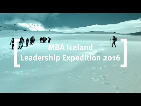 International Consultancy Week Iceland Leadership Expedition
