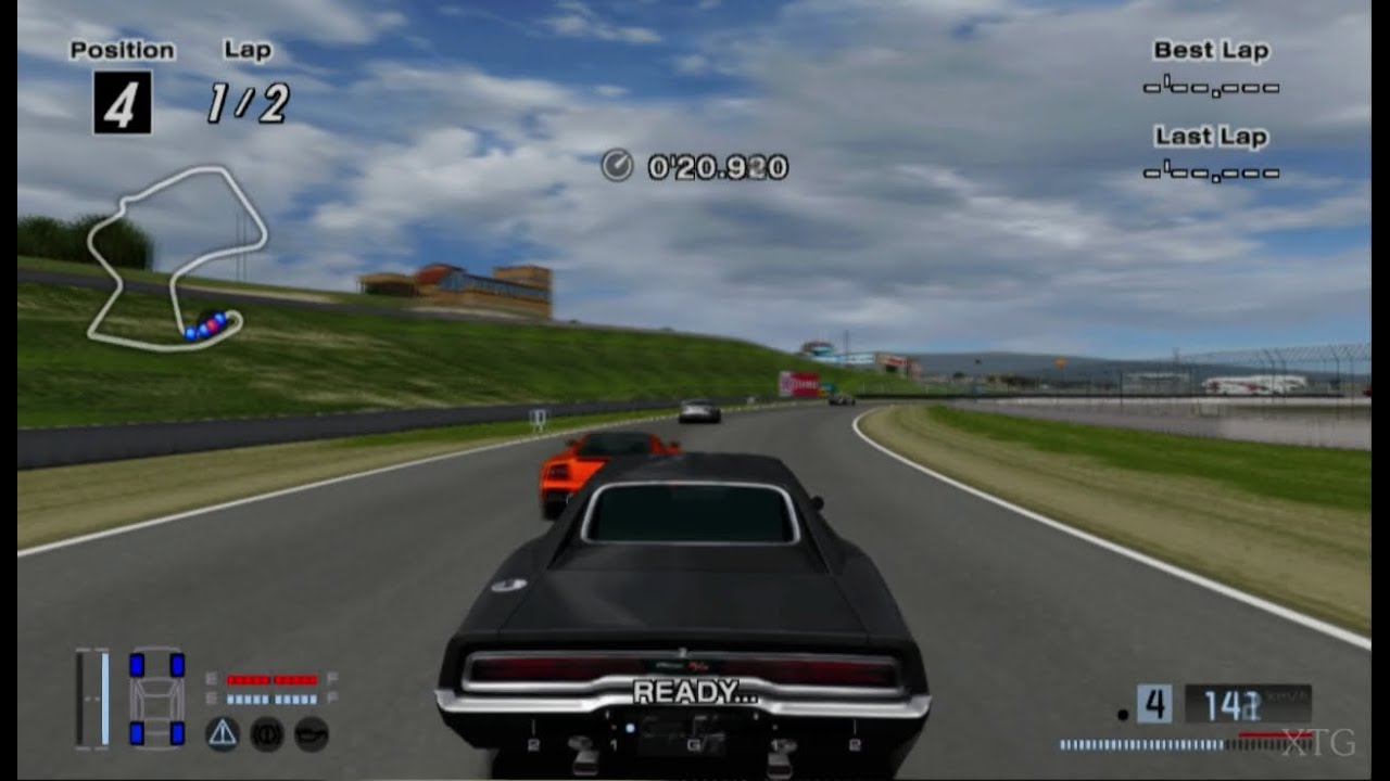 gran turismo 4 dodge charger 440 r t 39 70 hd ps2 gameplay. Black Bedroom Furniture Sets. Home Design Ideas