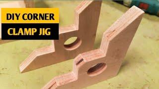 DIY CORNER CLAMP JIG FROM SCRAP PLYWOOD