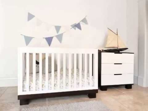 Details Babyletto Modo 3 in 1 Crib with Toddler Rail, Espresso White Top List