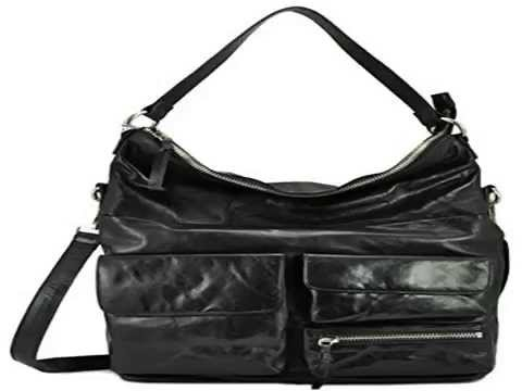 Hobo the Original Womens Explorer Convertible Shoulder Bag, Black ...