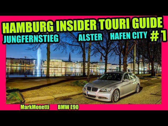 Hamburg's Insider Touri Guide Teil 1 | Jungfernstieg | Alster | Teil 1|  MarkMonetti