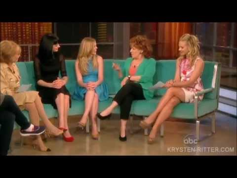 Krysten Ritter & Dreama Walker On The View  41012