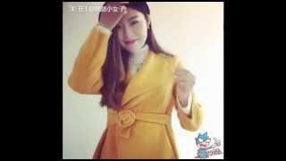 分享王-冬季大衣穿搭超美玫瑰蝴蝶結打法