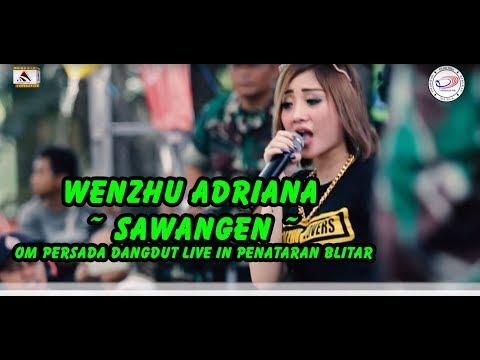 Wenzhu Adriana ~ Sawangen ~ Om Persada Dangdut Live In Penataran Blitar