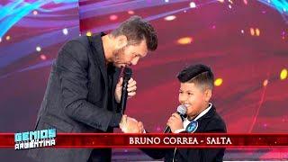 Bruno Correa le confesó a Marcelo que lo ve desde chiquito por YouTube