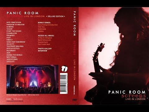 PANIC ROOM ✦ 'SCREENS - Live In London'  DVD Sampler