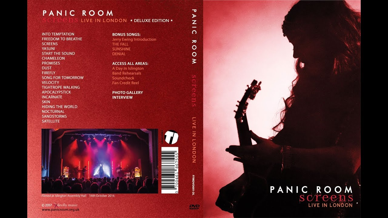PANIC ROOM ✦ U0027SCREENS   Live In Londonu0027 DVD Sampler Part 40