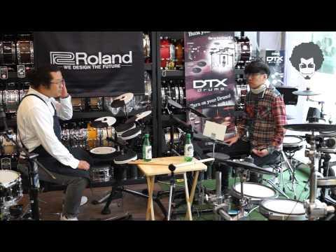 [비트맨] 전자드럼 비교 야마하 VS 롤랜드 Beatman Yamaha Vs Roland DTX Vs V-Drum