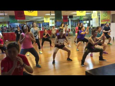 "Zumba® with Marites Pieper ""FIREHOUSE""  @ Golds Gym BGC Philippines"