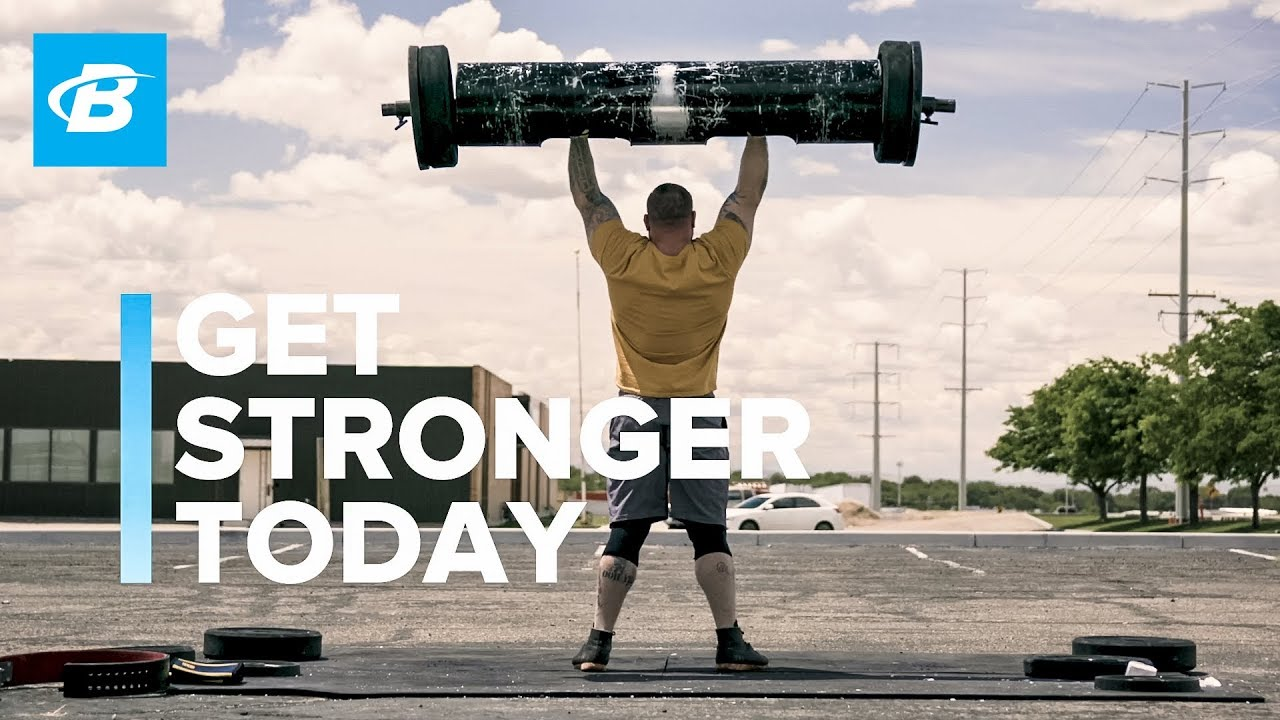 Get Stronger Today | Bodybuilding.com All Access