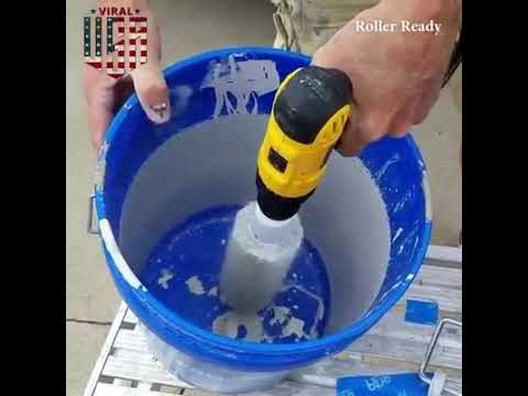 Roller Ready Big Plastic Paint Roller Cleaner