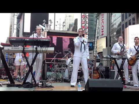 Fleet Week Navy Band 2012 NY Chris Castro Drummer
