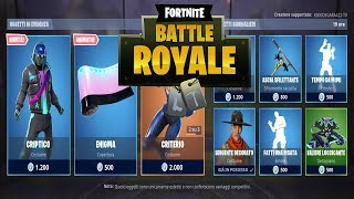 """SHOP"" MAY 10/05 NEW CRIPTIC SKIN AND ENIGMA! FORTNITE NEGOZIO DAILY"