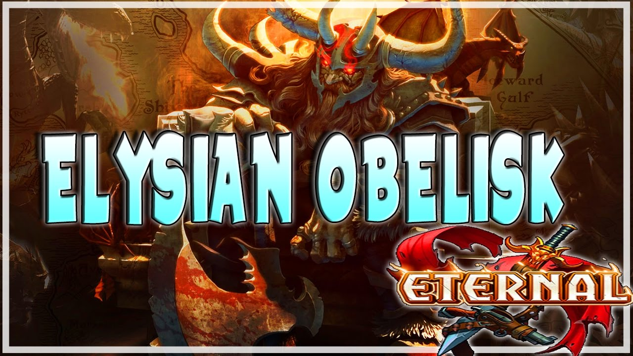 Eternal Elysian Obelisk Swarm Deck Tech Blue Yellow Gameplay