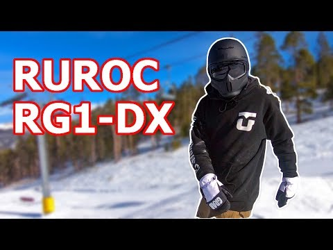 Ruroc RG1DX Snowboard Helmet Review