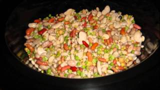 15 Bean With Turkey Ham Soup In The Slow Cooker Recipe From Drea