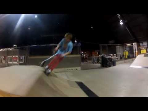 2 hours scootering at one9 Skate Park in Lubbock Texas | after four months of riding