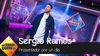 Sergio Ramos se convierte en el presentador de 'El Hormiguero' - El Hormiguero 3.0