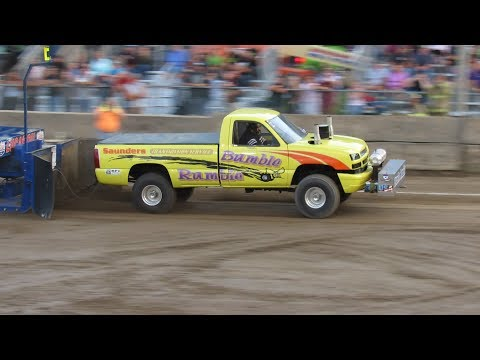 2017 Super Stock 4x4 Truck Pulls Washington County Fair Greenwich New York