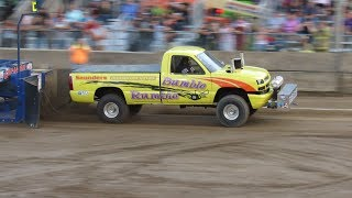 2017 Super Stock 4x4 Truck Pulls Washington County Fair Greenwich New York