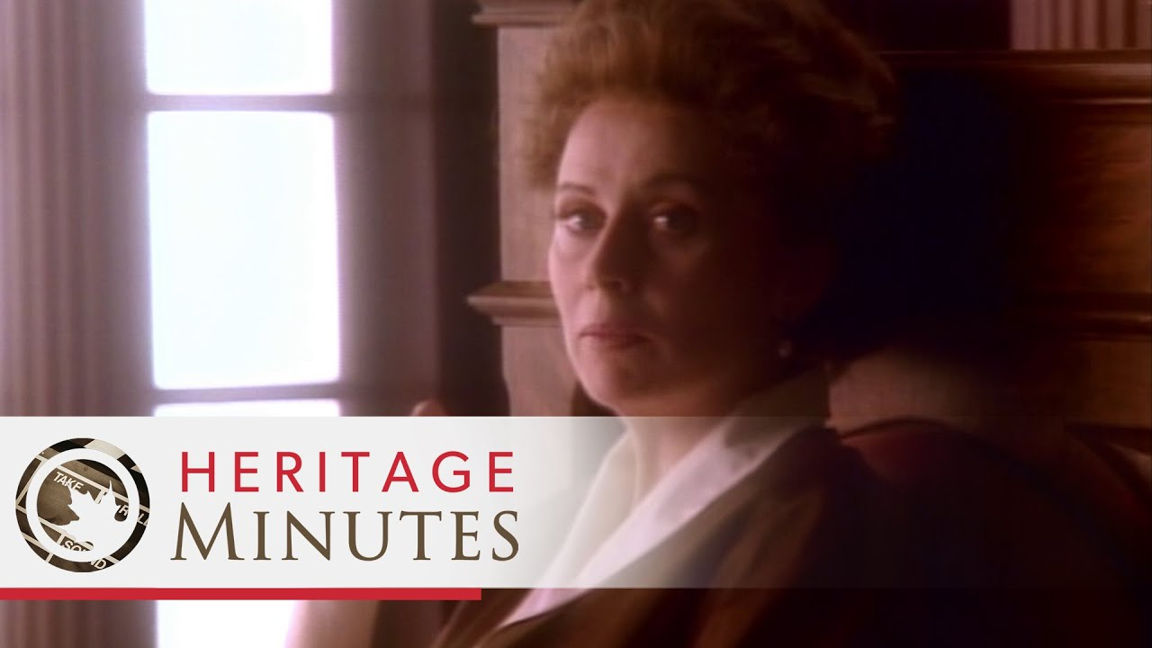 Heritage Minutes: Emily Murphy
