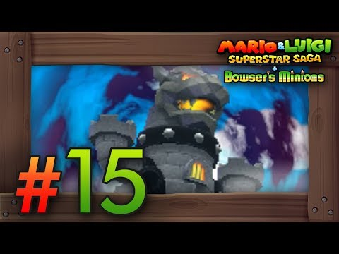 Mario & Luigi Superstar Saga + Bowser's Minions Walkthrough Part 15 | Bowser's Castle & Koopalings