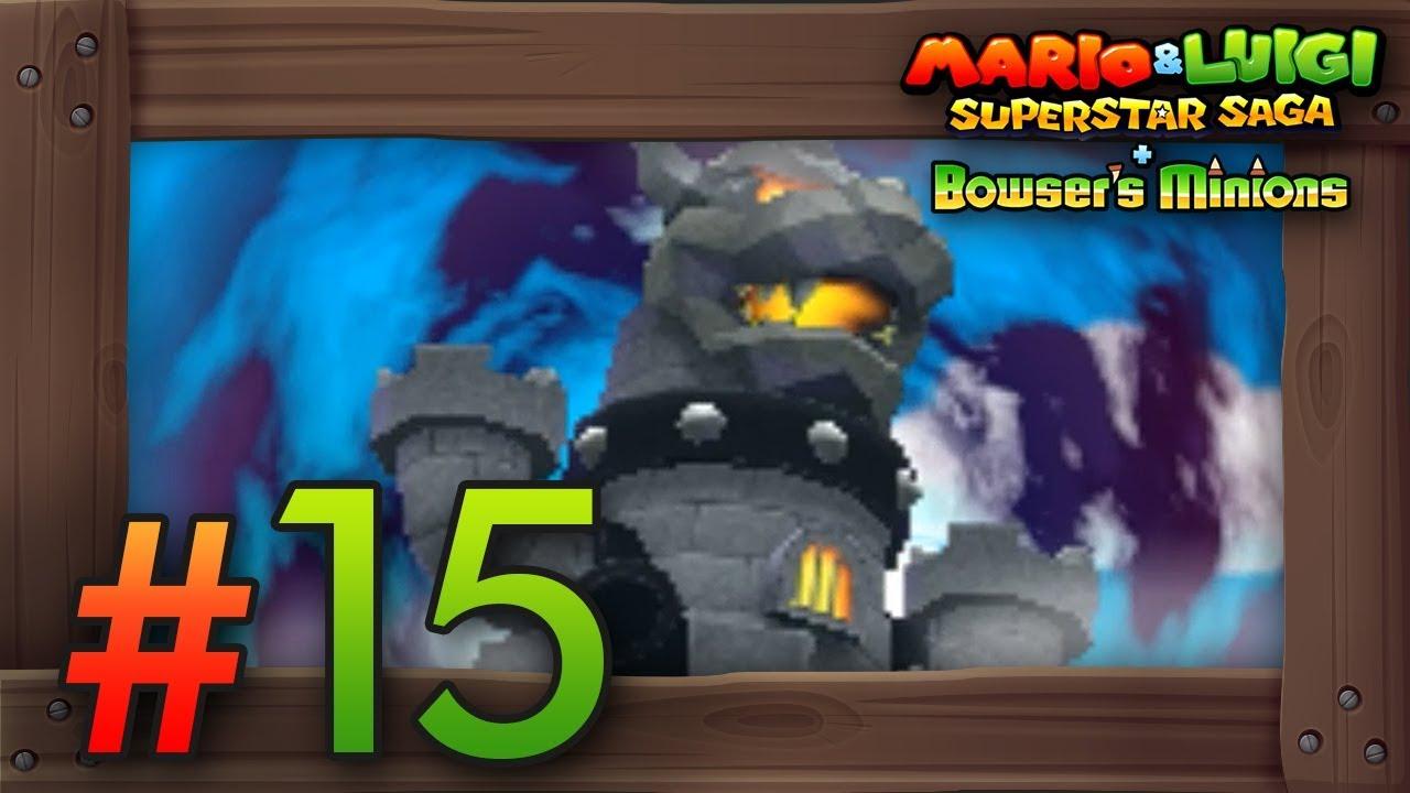 Mario Luigi Superstar Saga Bowser S Minions Walkthrough Part 15 Bowser S Castle Koopalings