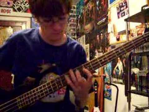 Chiodos- All Nereids Beware (bass cover) mp3
