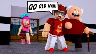 HELPING OUT THE ELDERLY! -- ROBLOX FLEE THE FACILITY
