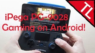 iPega PG-9028 Bluetooth Gamepad: Functions and Gaming on Android!