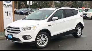 2018 Ford Escape SEL W/Heated Seats, Moonroof, AWD Review| Island Ford