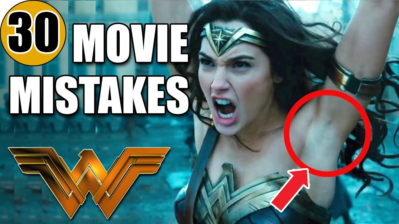Download 30 Mistakes in WONDER WOMAN (2017)