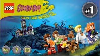 Мультик Гра Лего Скубі-Ду. У пошуках Мумії .Серія№1#Лего