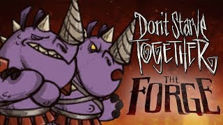 Clash of the RhinoceBros - Don't Starve Together - The Forge