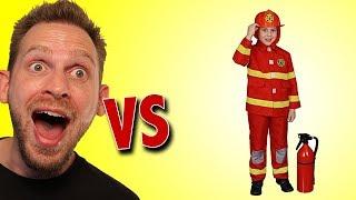 Fireman Costume Unboxing